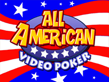 Игровой автомат - All American Video Poker Multihand